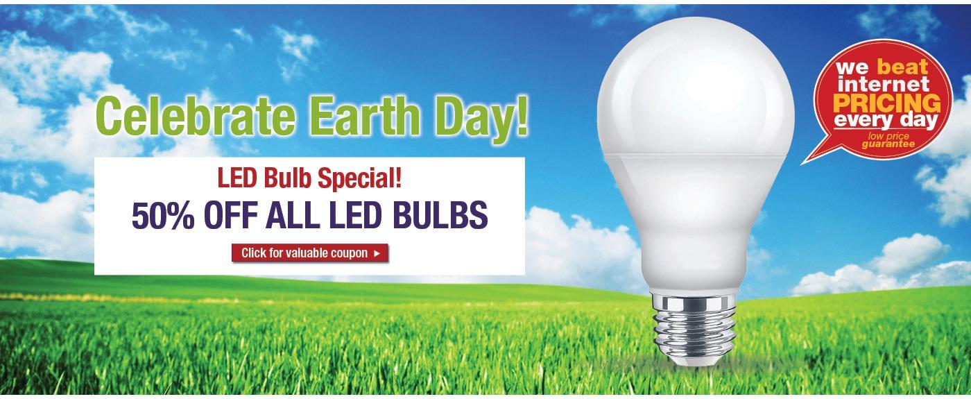 LED bulb sale, discounted LED bulbs